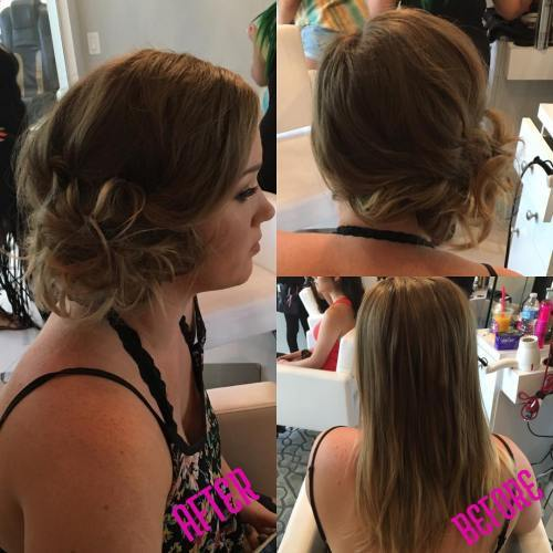 Sida Updo For Fine Hair