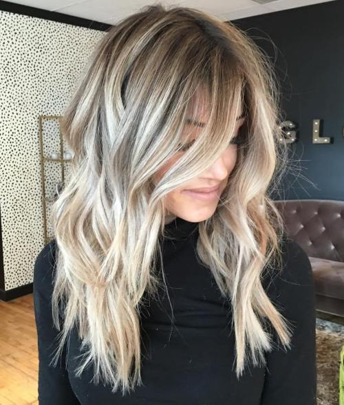 dlho Tousled Bronde Hairstyle