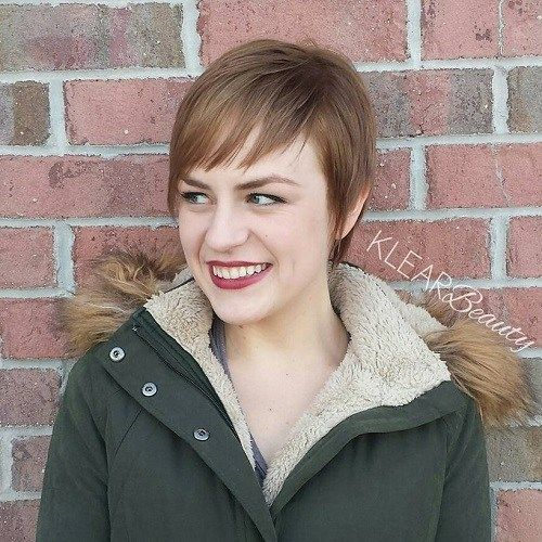 Lång Pixie Haircut For Thin Hair