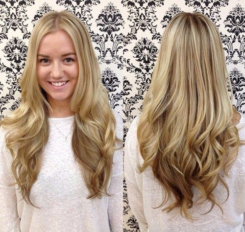 dolga blonde layered haircut