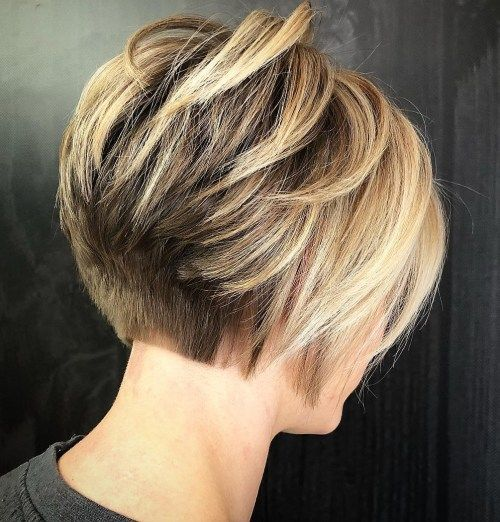 Кратак Stacked Bronde Bob For Thick Hair