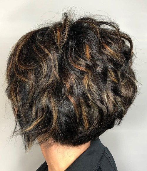 Кратак Cut With Messy Layers