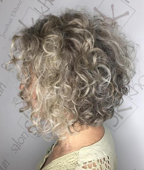 Pepel Blonde Perm Bob
