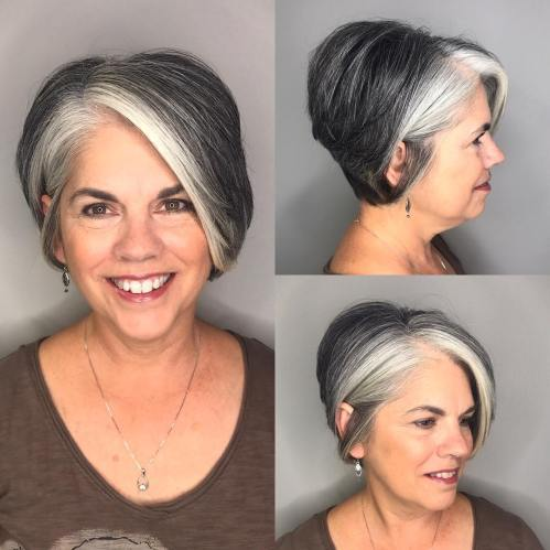 dolga Pixie With Gray Highlights