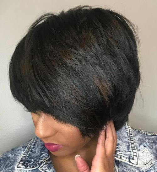 Kort Layered Cut With Bangs