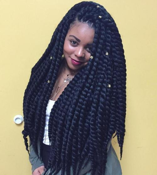 Gros Long Twists Braids