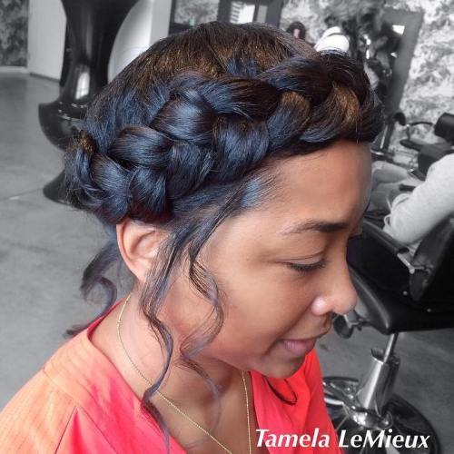 Aura Braid Updo