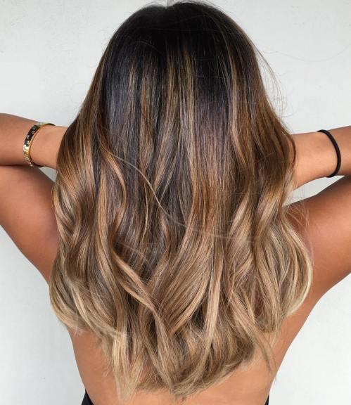0b2460cd1f8e 70 Flattering Balayage Hair Color nápady pre rok 2018