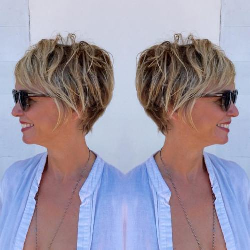 rjav Pixie Bob With Blonde Highlights