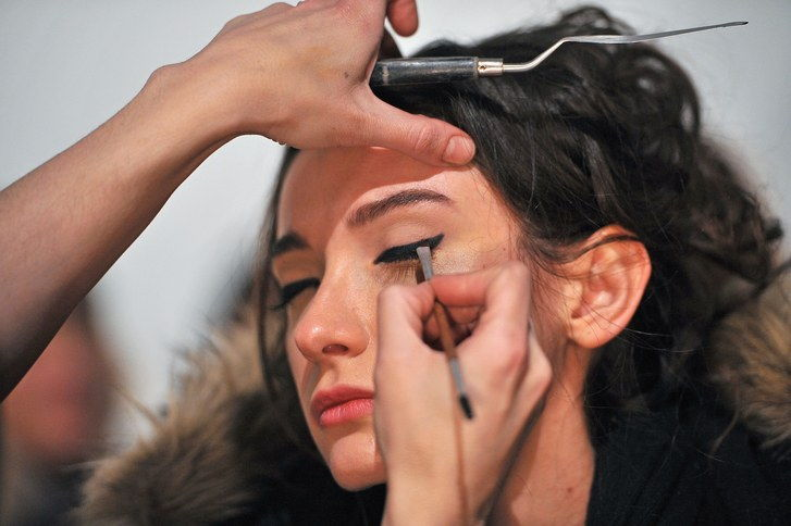 La Petite Robe - Backstage - Mercedes-Benz Fashion Week Fall 2015