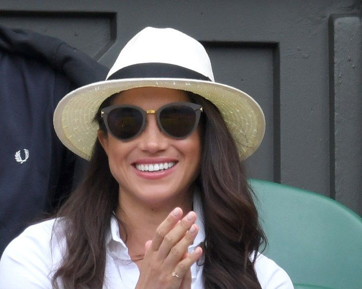 Meghan Markle Wasn't Allowed to Wear a Hat at Wimbledon This Year 5