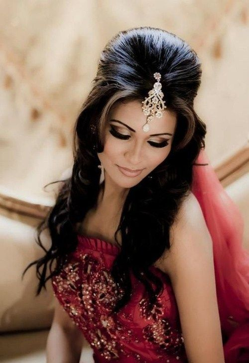 lung Indian wedding hairstyle