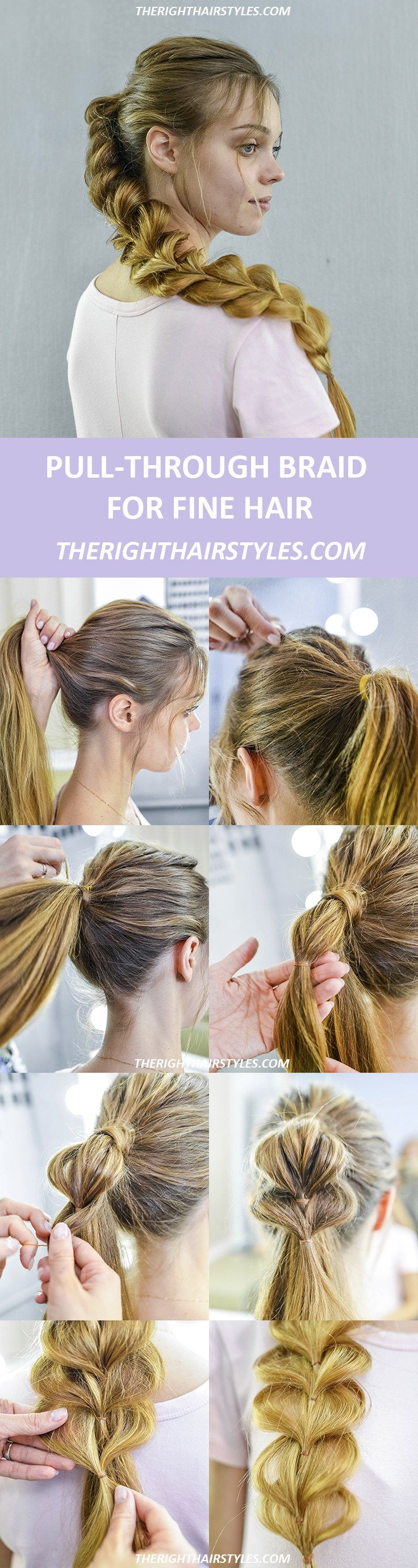 Повуците Through Braid How To