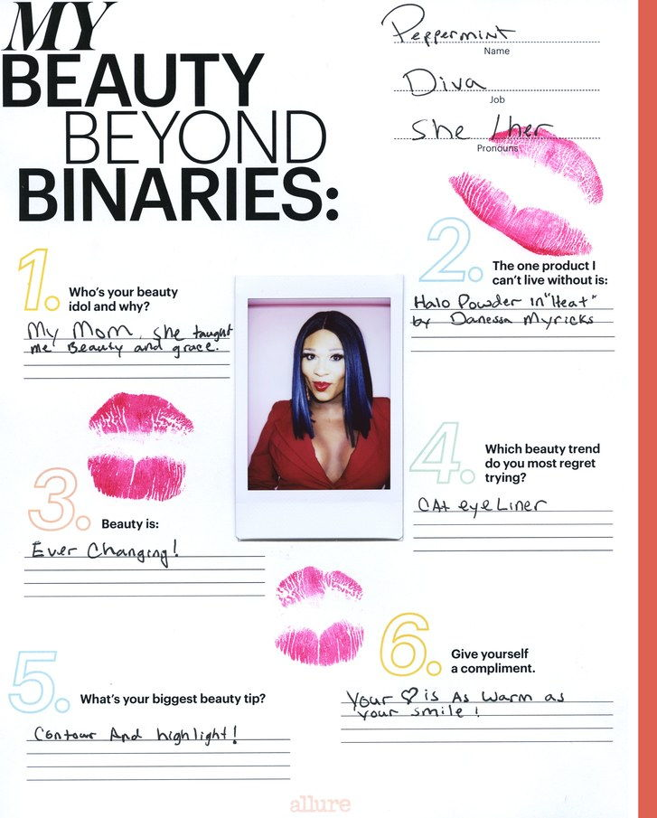 Mentă: Beauty Beyond Binaries Questionnaire