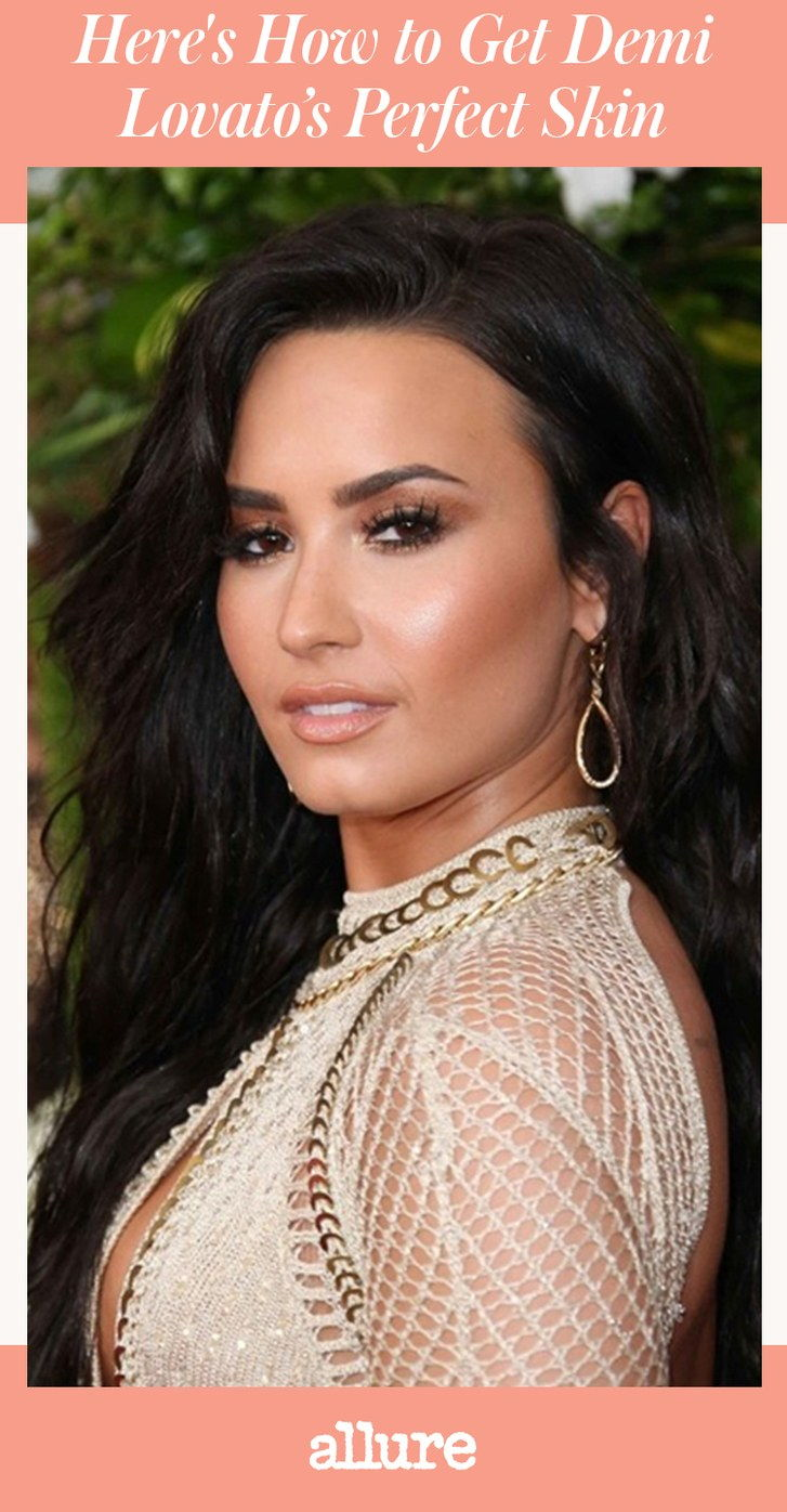 Demi Lovato's Glow: Here's How to Get the Singer's Perfect Skin