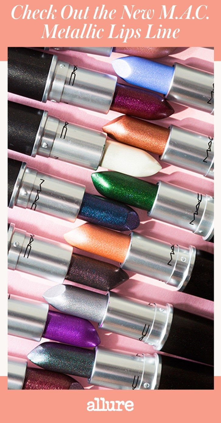 The M.A.C. Metallic Lips Line Is On Its Way