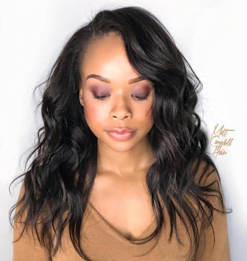 dlho Layered Sew-In Hairstyle
